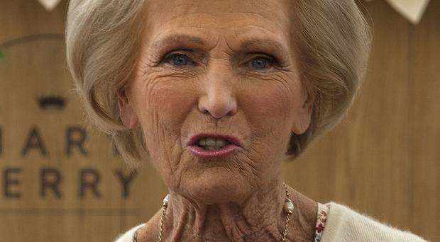Mary Berry (Lauren Hurley/PA)