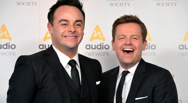 Ant McPartlin and Dec Donnelly