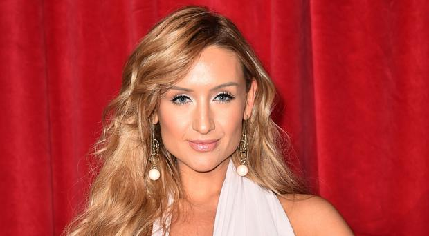 Catherine Tyldesley at an awards show