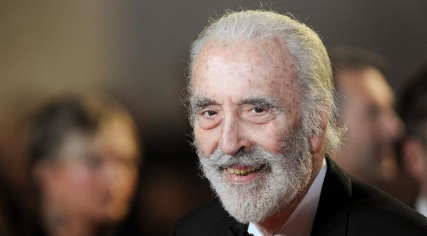 Sir Christopher Lee