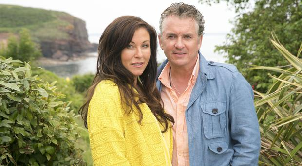 Jessie Wallace and Shane Richie as Kat and Alfie