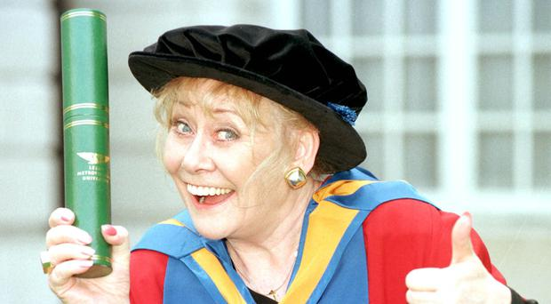 Coronation Street actress Liz Dawn