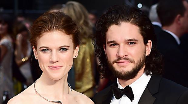 Rose Leslie and Kit Harington (Ian West/PA)