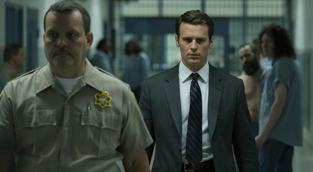 Jonathan Groff as FBI agent Holden Ford