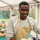 Liam on the Great British Bake Off
