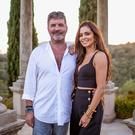 Cheryl and Simon Cowell on The X Factor