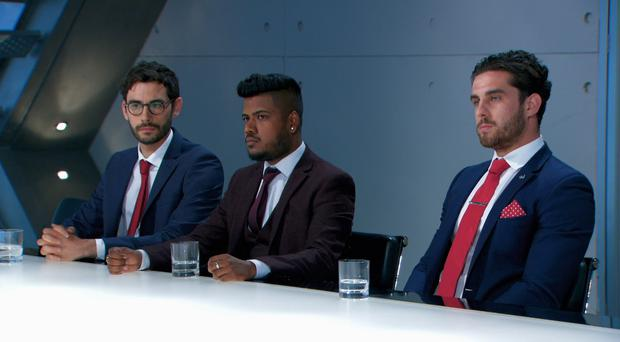 Ross was joined by Harrison and Sajan in the board room.