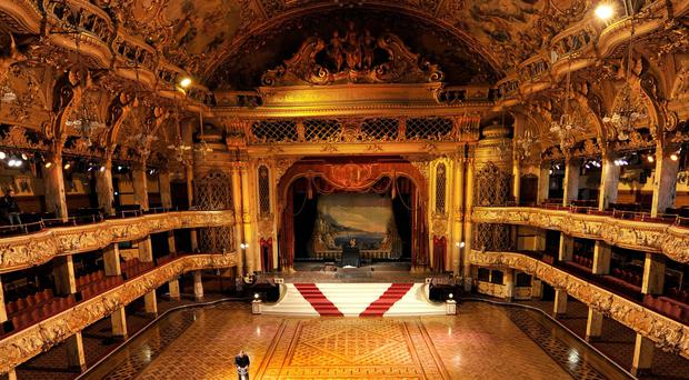Blackpool Tower Ballroom cleaning