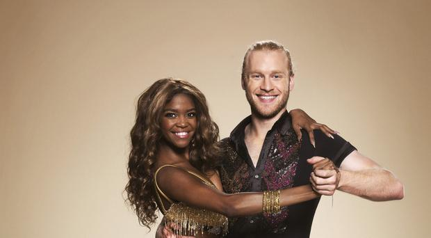 Oti Mabuse and Jonnie Peacock on Strictly Come Dancing 2017 (Ray Burmiston/BBC/Strictly Come Dancing)