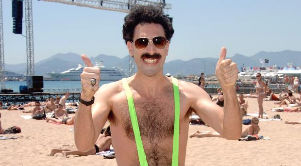 Sacha Baron Cohen offers to pay fines for mankini offenders
