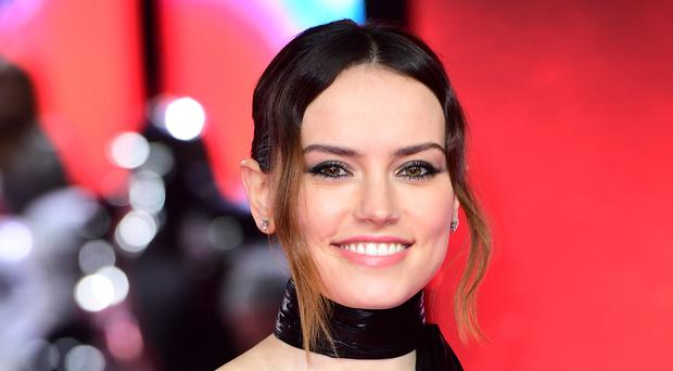 Daisy Ridley at the Star Wars: The Last Jedi European premiere in London (Ian West/PA)
