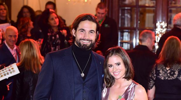 Jamie Jewitt and Camilla Thurlow called on people to offer more support to refugees over the winter (Ian West/PA)