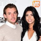 Nathan Massey and Cara de la Hoyde (Ian West/PA)