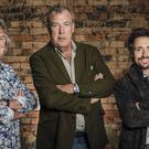 James May, Jeremy Clarkson and Richard Hammond (Amazon Prime Video/PA)