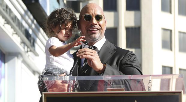 Dwayne Johnson gets a star on the Walk of Fame