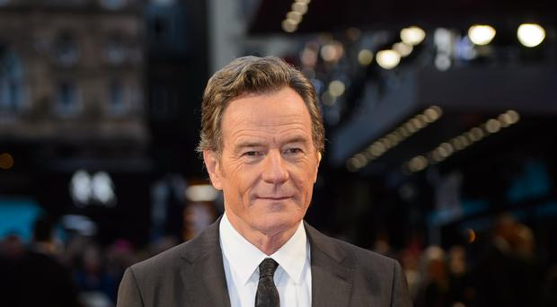 Bryan Cranston on the red carpet (Matt Crossick/PA)