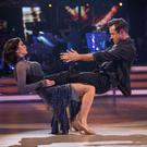 Katya Jones and Joe McFadden perform during this year's series of Strictly Come Dancing (Guy Levy/BBC/PA)