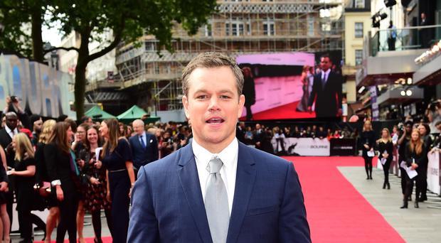Matt Damon (Ian West/PA)