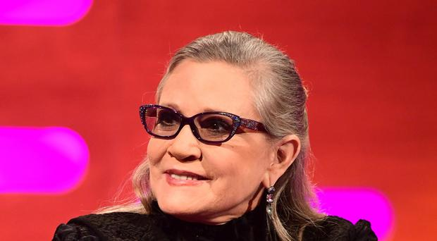Star Wars hard for Carrie Fisher's family to watch