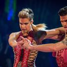 Gemma Atkinson and Aljaz Skorjanec (Guy Levy/BBC)