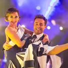 Katya Jones and Joe McFadden (BBC)