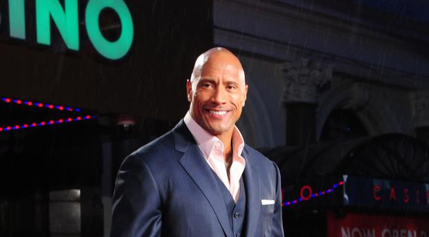 Dwayne Johnson (Ian West/PA)