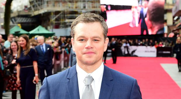Matt Damon has been criticised over further comments on sexual abuse in Hollywood (Ian West/PA)