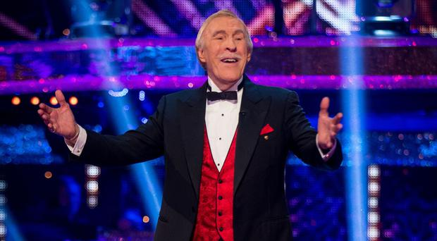 Sir Bruce Forsyth died in August (Guy Levy/BBC/PA)