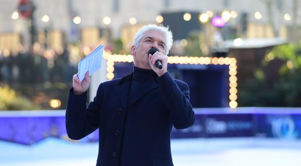 Phillip Schofield during the press launch for Dancing On Ice (David Mirzoeff/PA)