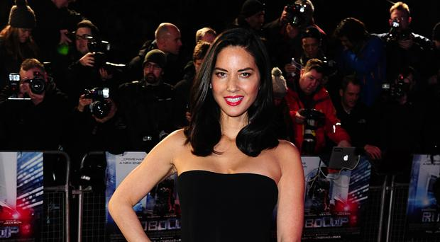 Olivia Munn also criticised Woody Allen