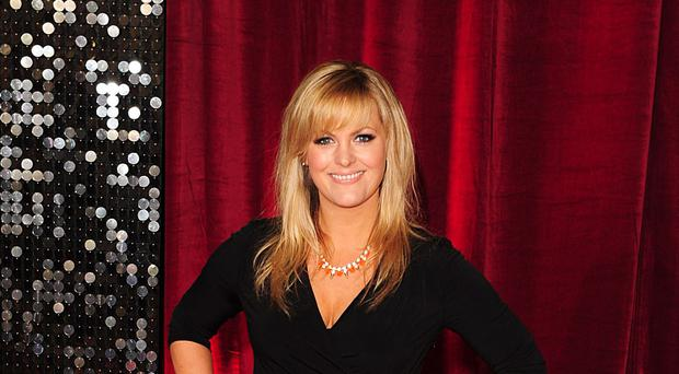 Jo Joyner on the red carpet (Ian West/PA)