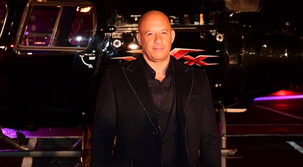Box office takings for xXx: Return Of Xander Cage helped Vin Diesel top Forbes' annual list (Ian West/PA)