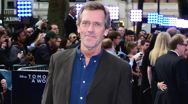 Hugh Laurie (Ian West/PA)