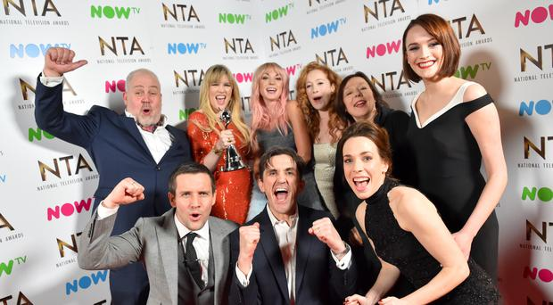 National Television Awards 2017 – Backstage – London