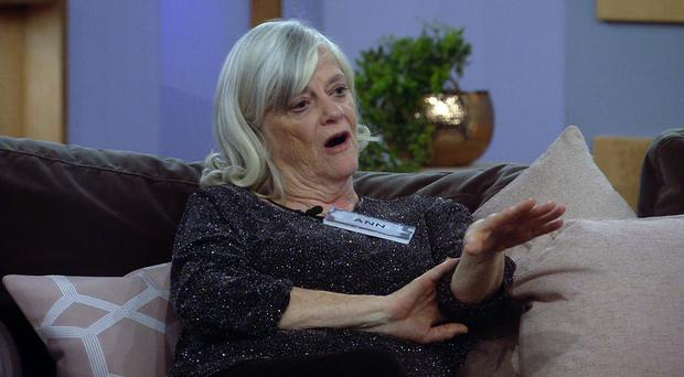 Ann Widdecombe on CBB (Channel 5)