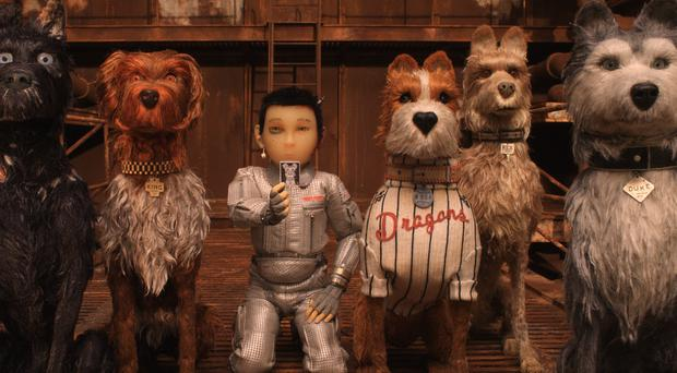 Wes Anderson's Isle Of Dogs animation, which will open this year's Glasgow Film Festival (Fox Searchlight Pictures)