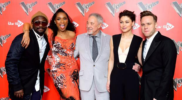 The Voice UK 2018 launch (Ian West/PA)
