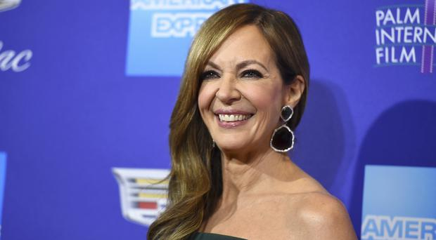 Globes nominee Allison Janney will be among those wearing black