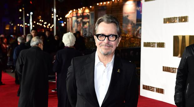 Gary Oldman attending the Darkest Hour Premiere held at the Odeon, Leicester Square, London (PA)