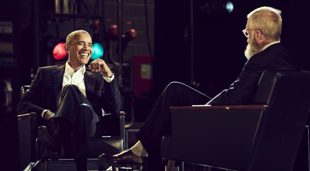 Barack Obama admits to having 'dad moves' on new Letterman show (Netflix)