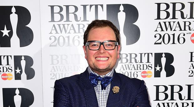 Alan Carr ties the knot in California