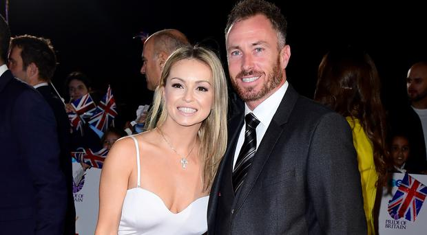 James and Ola Jordan both used to be on Strictly Come Dancing (Ian West/PA)