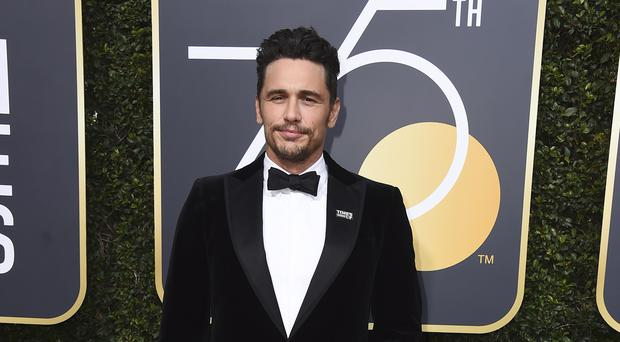 James Franco (Jordan Strauss/AP/PA)