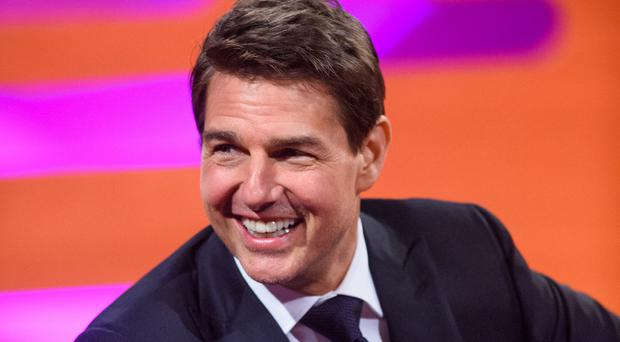 Tom Cruise Shows Slow-Mo Footage Of His Mission: Impossible Injury!