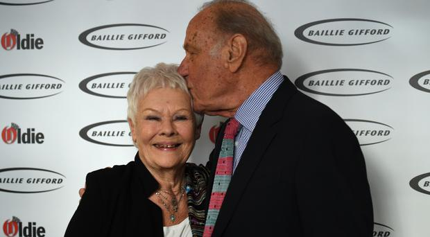 Dame Judi Dench and Geoffrey Palmer