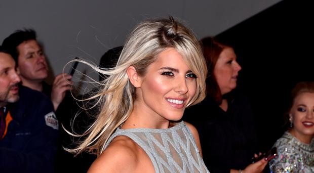 Mollie King was romantically linked to her Strictly dancing partner (Mollie King/PA)