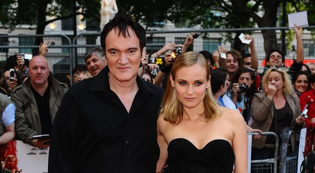 Quentin Tarantino and Diane Kruger (Ian West/PA)