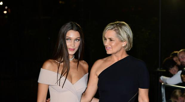 Yolanda Hadid: I made Gigi and Bella wait until 18 to become models (Ian West/PA)