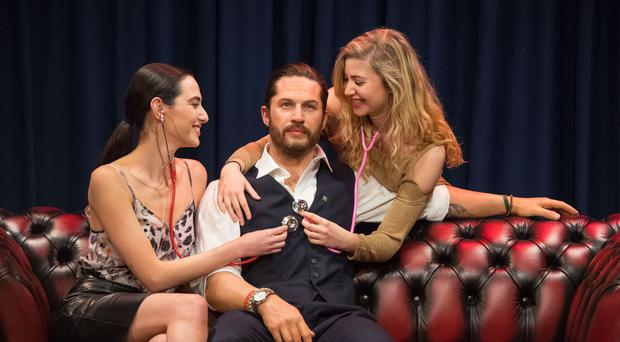 Tom Hardy wax figure at Madame Tussauds