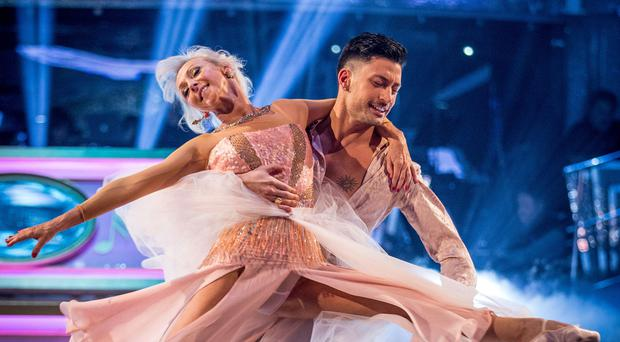 Strictly's Giovanni Pernice pays sweet tribute to Debbie McGee as tour ends (Guy Levy/BBC)